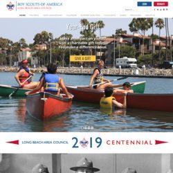 hosting Long Beach, CA website and design