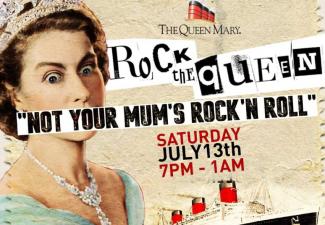 Rock The Queen:  July 13, 2019